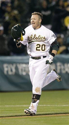 san francisco 03caf aefcb Oakland Athletics Josh Donaldson hits a walk-off homer ...