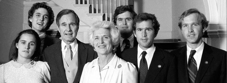 The Bush Family Old Portrait Bush Family Family Cookbook