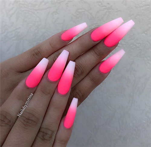 35+ Best Ideas For Your Ombre Nails In 2019 Summer | nails
