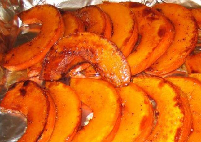 Блюда из печеной тыквы