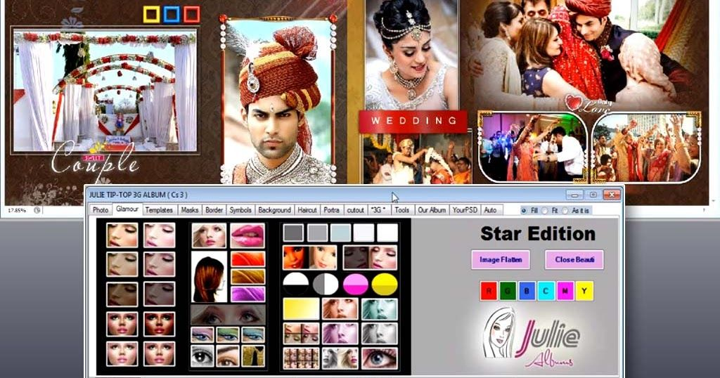 Julie Galaxy Album Software Free Download For Lifetime Photo Album Design Album Design Create Photo Album