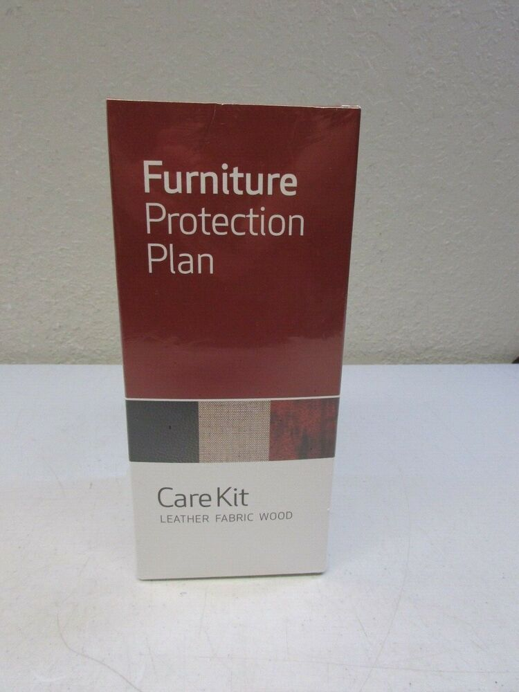 Furniture Protection Plan Care Kit Leather Fabric Wood New