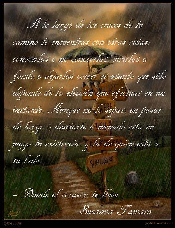 Donde El Corazón Te Lleve Susanna Tamaro Frases Poemas Y