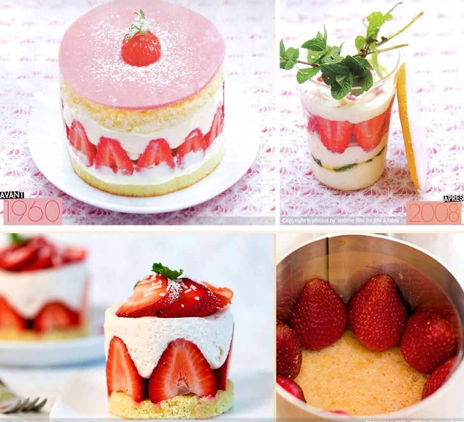 Photo of delicious french desserts   This French dessert is apparently the first fresh fr…