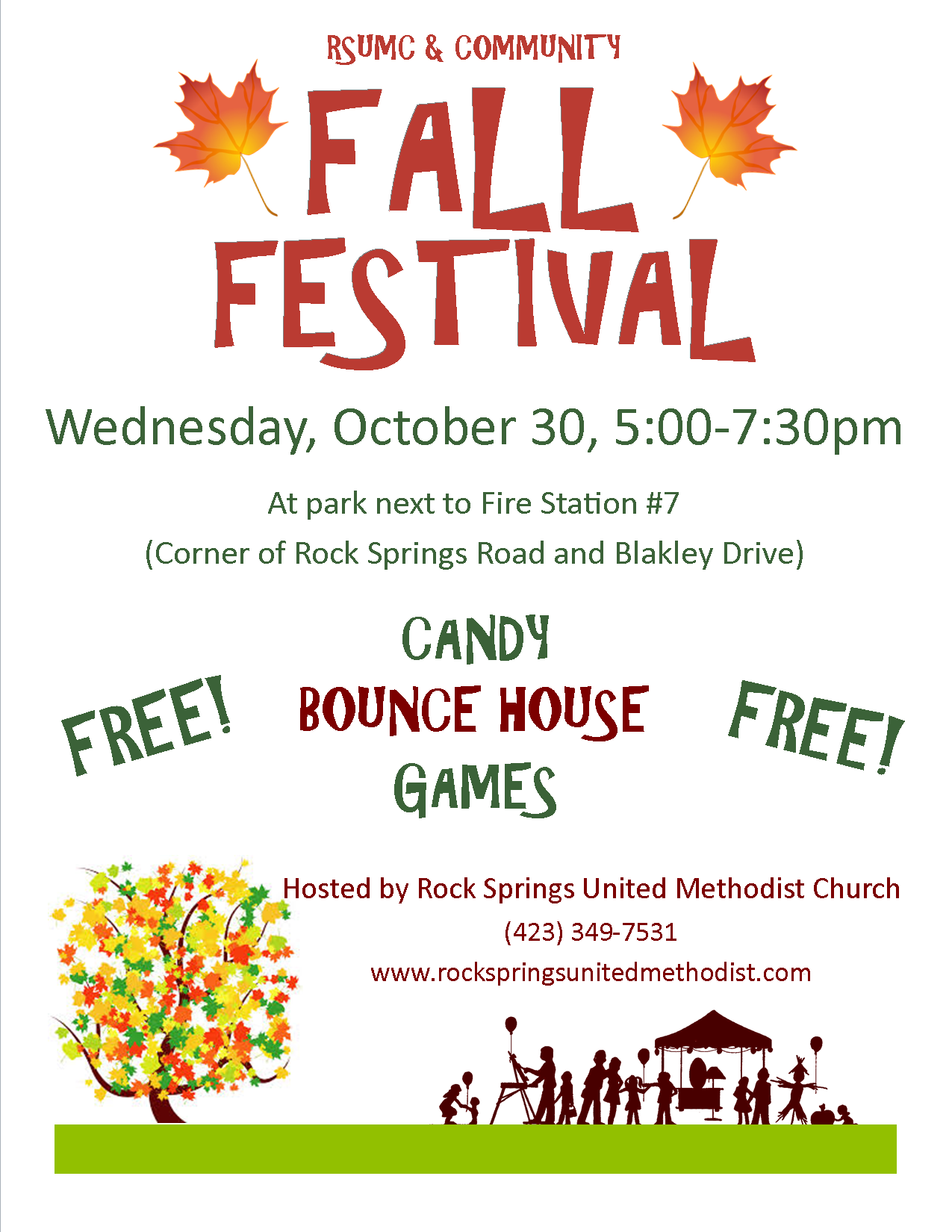 fall festival flyer template Google Search Fall