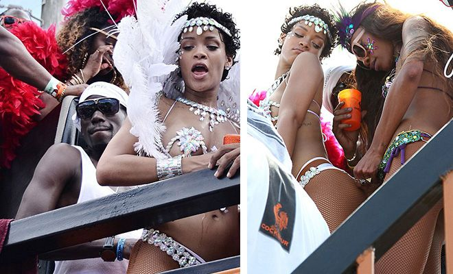 Rihanna visited her home country of Barbados recently and while