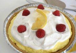 Creamy Lemon Layered Pie