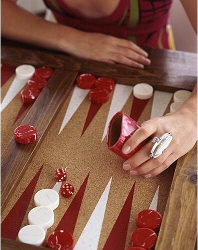 perfect rainy day plan ~ backgammon