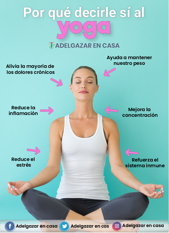 Hacer yoga te adelgaza