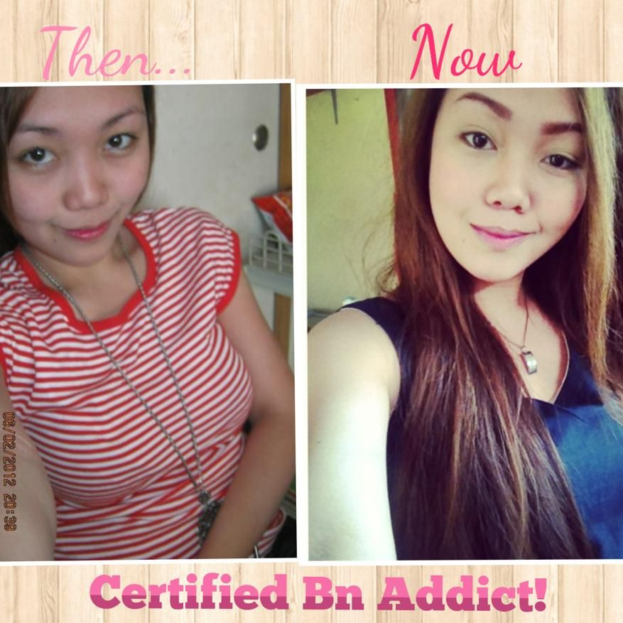Another happy client who shared her before and  after picture! :) This was also shared to her personal FB account! :) thanks maam for this nice feedback! :) Visit us at https://www.facebook.com/BNwhiteningshoppe