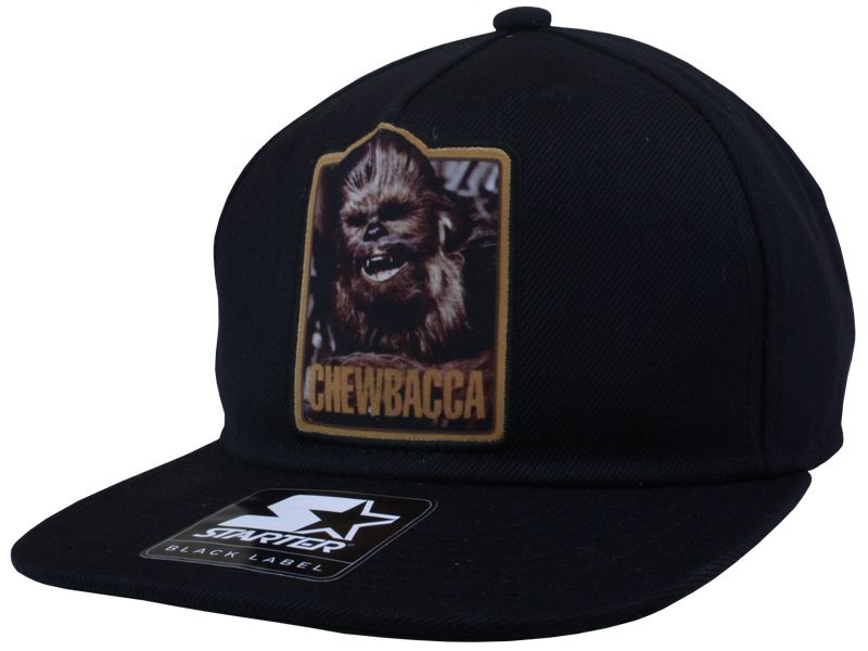Star Wars Souvenir Chewbacca Snapback Caps Starter Black