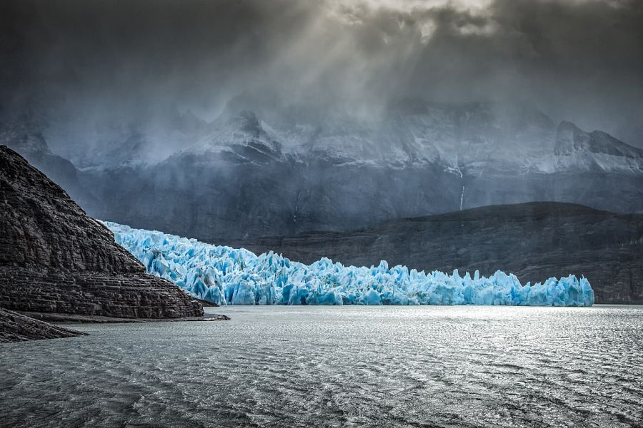 ill-mannered: Grey Glacier -Torres del Paine (Chile) by Suk Choo Kim