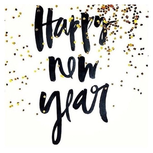 Happy new year ❤ liked on Polyvore featuring home, home decor ...