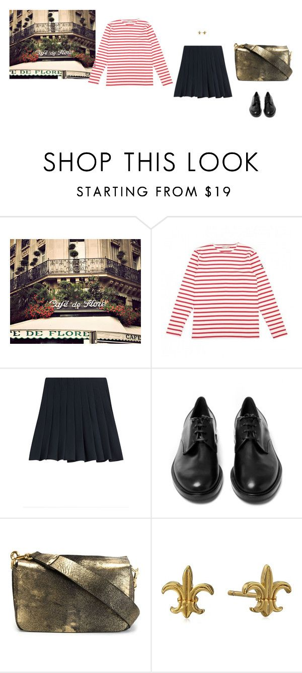 """Bon appetit!"" by panda6980 ❤ liked on Polyvore featuring Armor-Lux, Steffen Schraut, Casadei, Lanvin and Gorjana"
