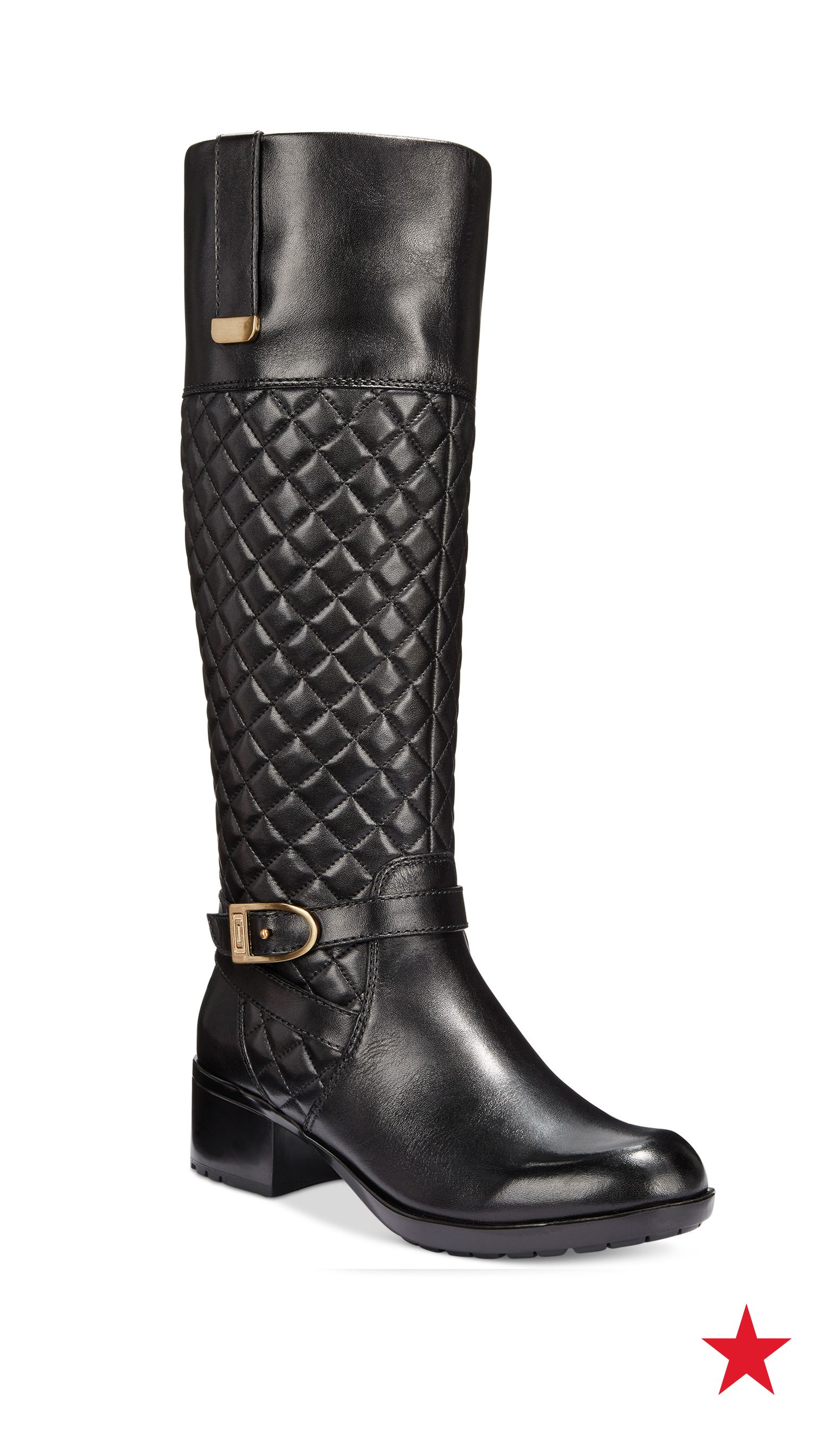 bb448f0a78b We're totally loving these Bandolino riding boots. Check out that ...