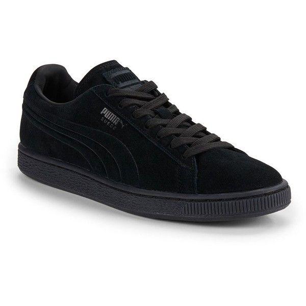 Zapatos negros Puma Suede para hombre UWyhDF5Z