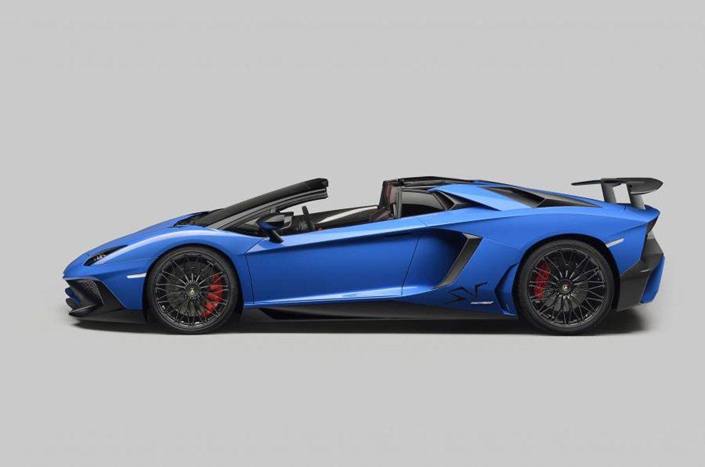 Lamborghini Aventador Lp750 4 Superveloce Roadster Side View