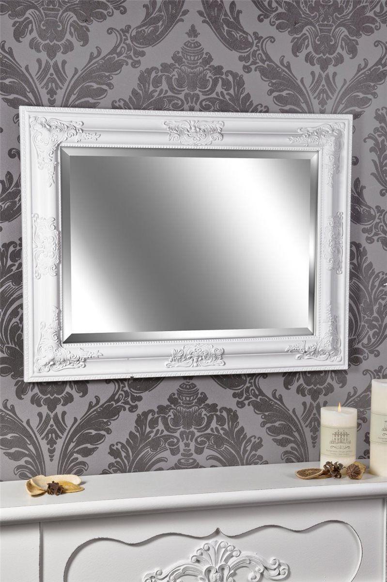 Spiegel Wandspiegel weiss Barock LEILA 65 x 50 cm  eBay  Bedroom  Wandspiegel wei Spiegel