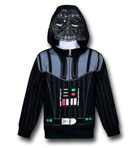 NWT Disney Store Star Wars Cape Darth Vader Costume PJ Pals Deluxe Sleep Set NEW