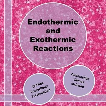 Endothermic Vs Exothermic Reactions Powerpoint Sparkling Science