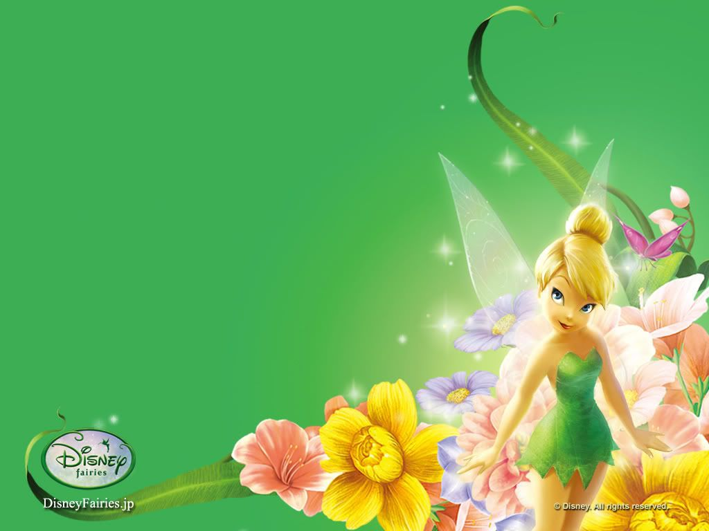 tinkerbell wallpaper background theme desktop party ideas