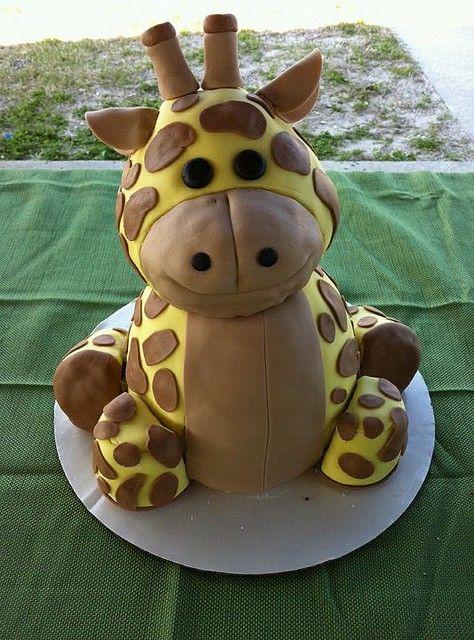 Stand Up Giraffe Cake Pan