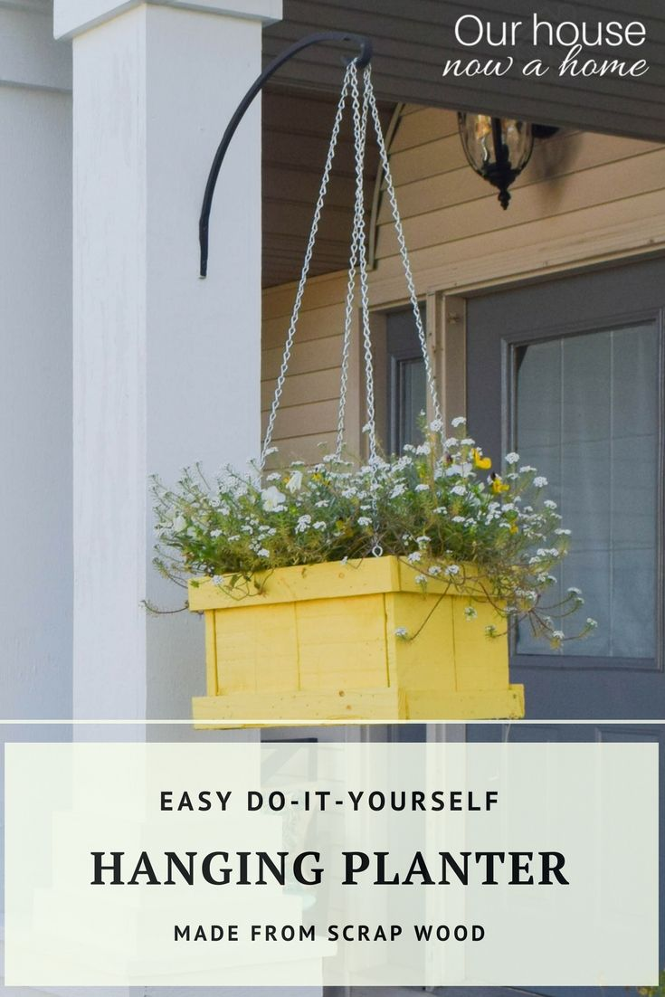 Diy Hanging Planter How To Create Using Wood Pallets 400 x 300