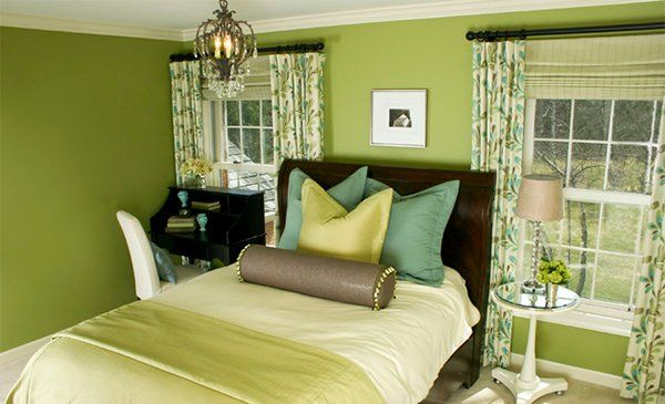 15 Bedrooms of Lime Green Accents | Green accents, Limes and Bedrooms