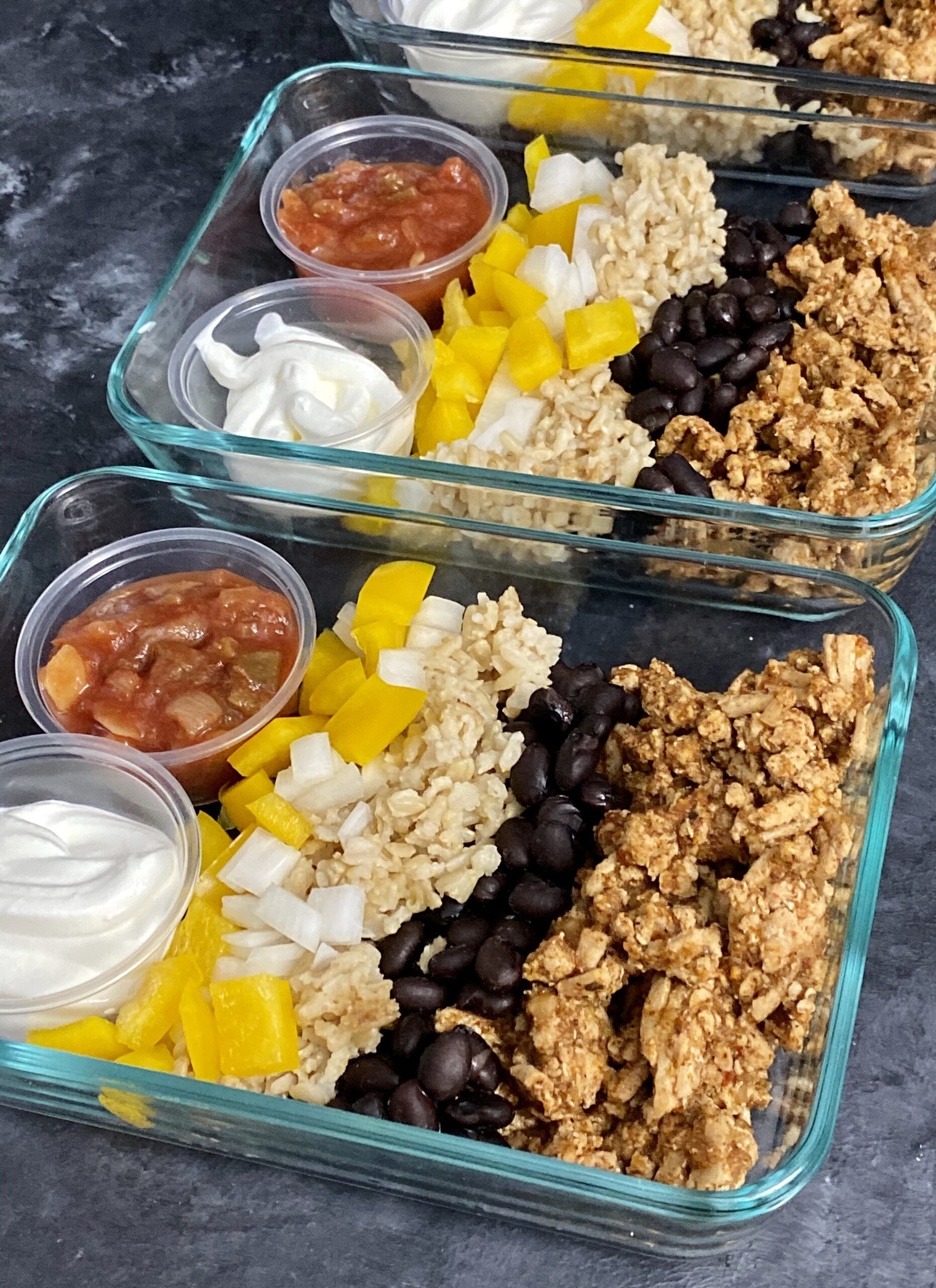 10 Ground Turkey Recipes to Meal Prep This Weekend - Organize Yourself Skinny #groundturkeytacos