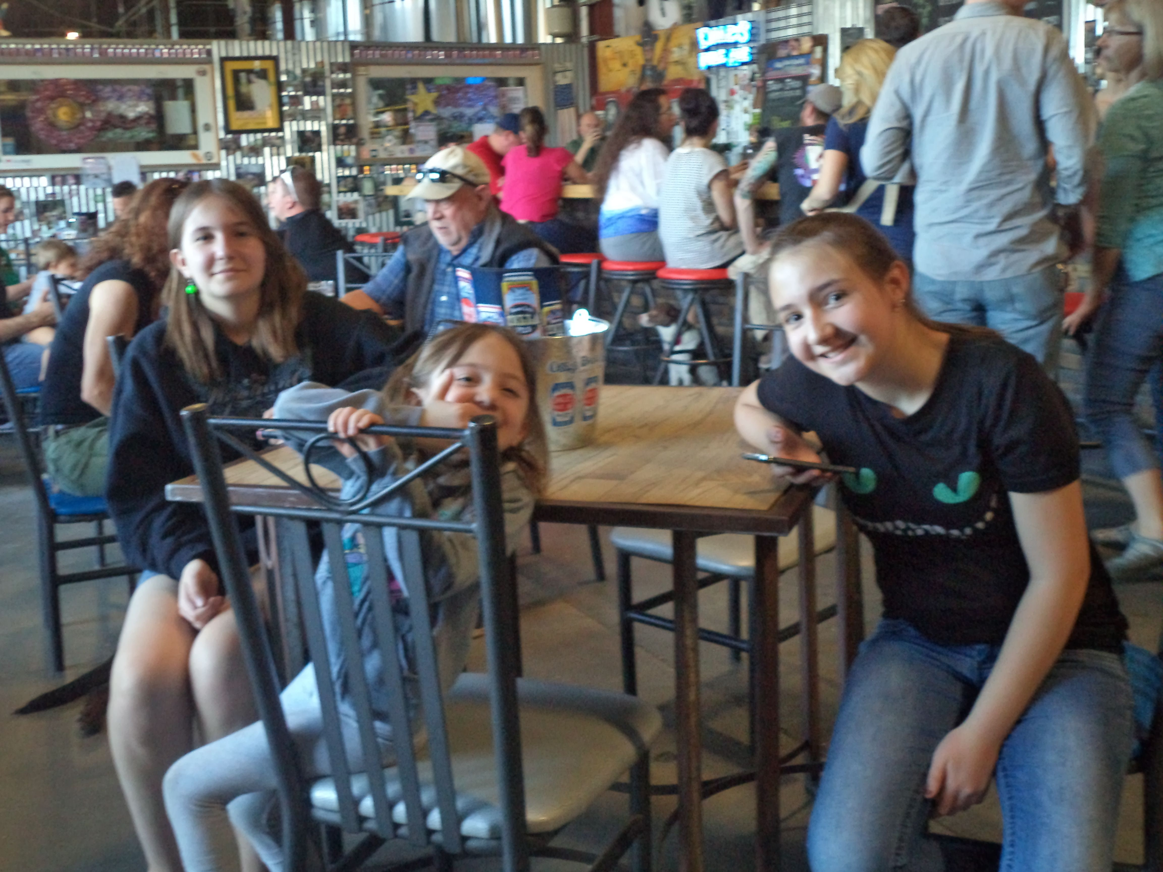 The Girls at Tasty Weasel March 15 2015