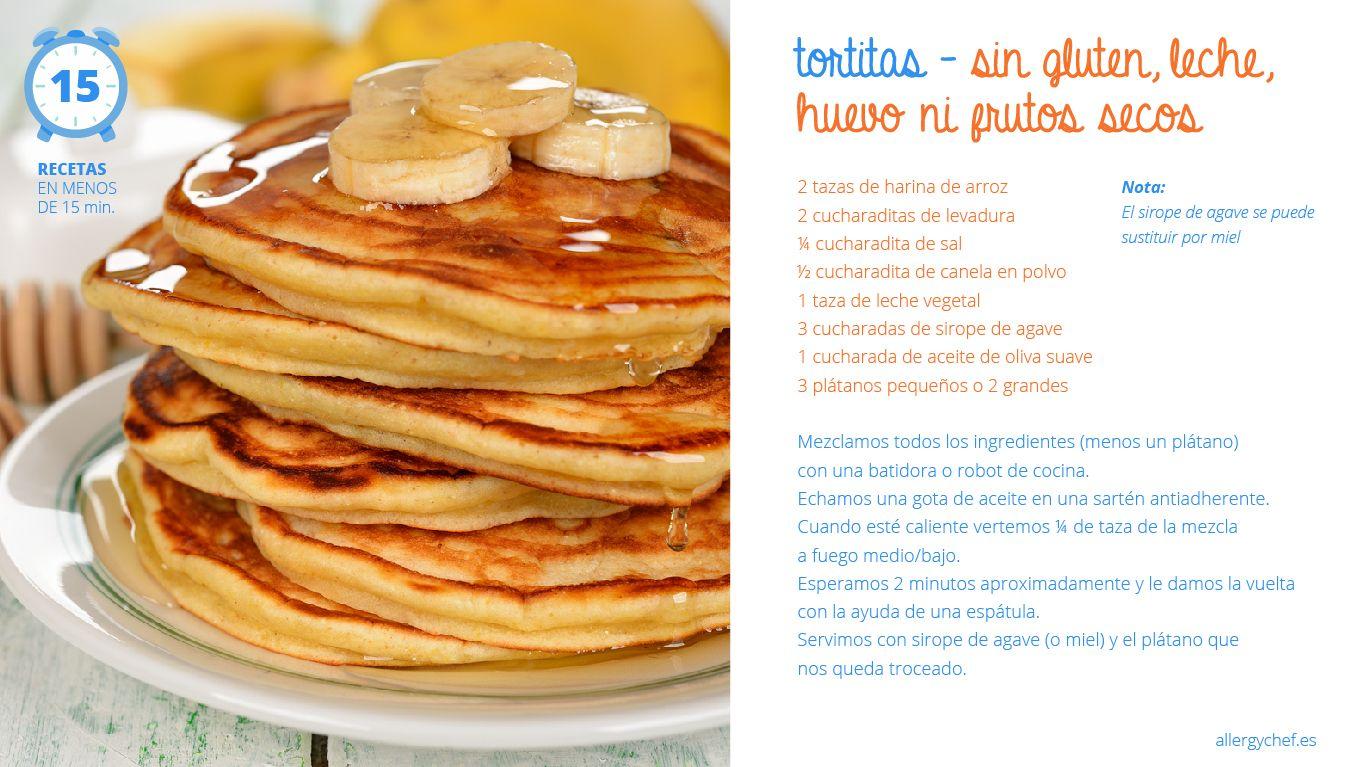 Tortitas sin gluten, sin huevo, sin leche y sin frutos secos ...