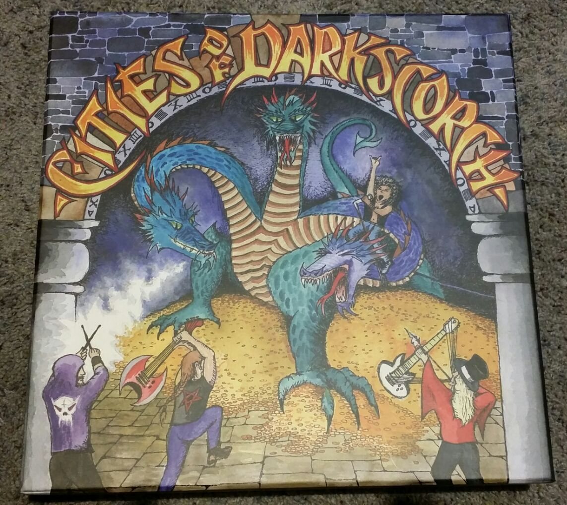Cities of Darkscorch Board games, Holiday gift guide