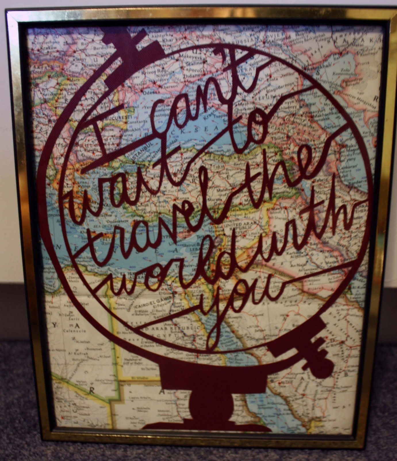 I Can't Wait To Travel The World With You.