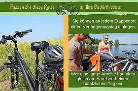 Radreise Pfeffersack Ostseetour   Radurlaub mit Gepäcktransport