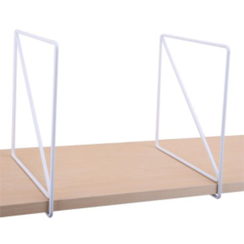 8 In Wire Shelf Dividers For Wood Shelving Pair White At Menards