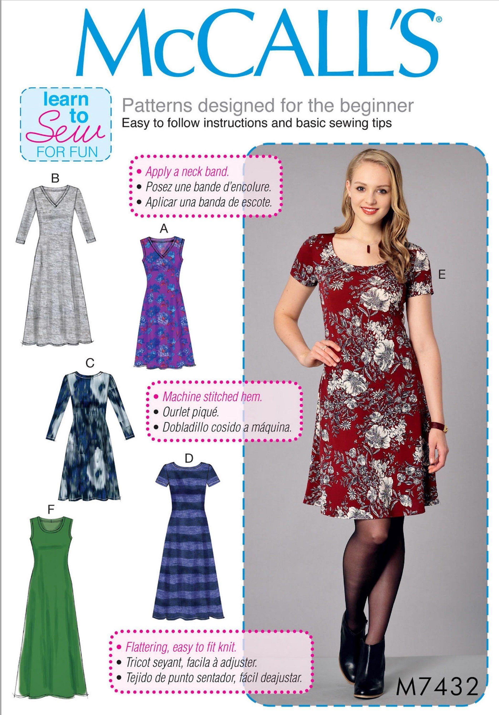 Sewing Pattern Women S Easy Dress Pattern Stretch Knit Etsy Knit Dress Pattern Simple Dress Pattern Sewing Pattern Women Dress [ 2995 x 2092 Pixel ]