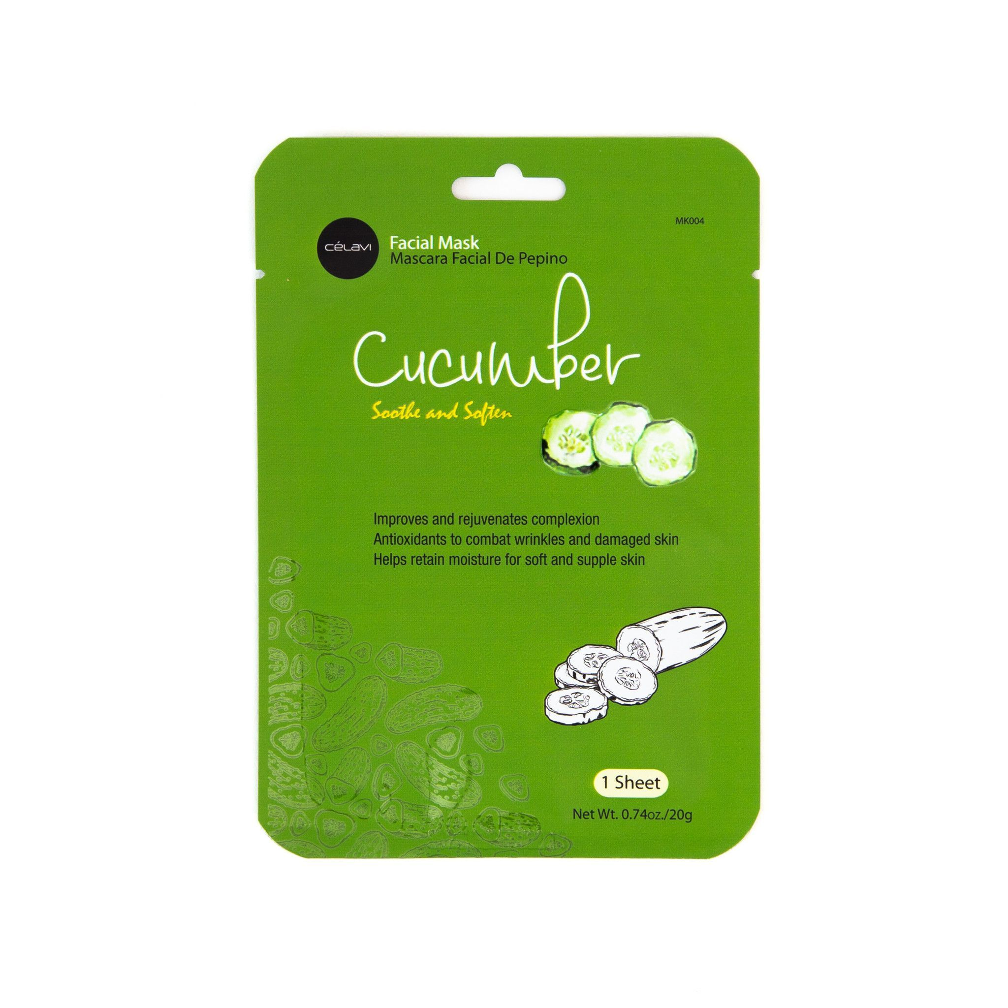 Facial Mask - Cucumber   Skin care   Pinterest