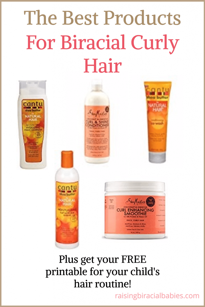 The Best Products For Biracial Curly Hair Biracial hair