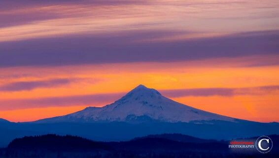 ❀ Sunrise on Mt. Hood ❀