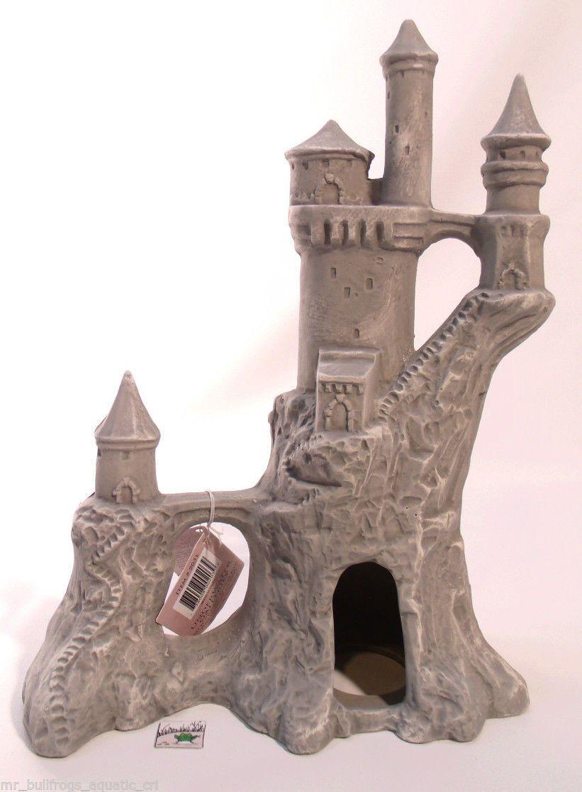 Cichlid Stones Romanian Castle Ceramic Aquarium Ornament Decoration | eBay