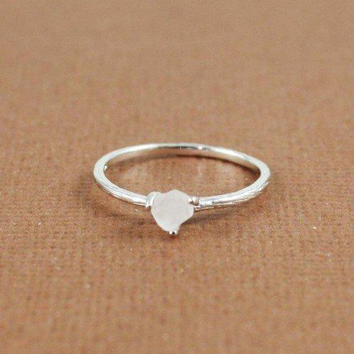 #tooriginalArtfire on Artfire                       #ring                     #Silver #Rough #White #Quartz #Birthstone #Ring #April                        Silver Rough White Quartz Birthstone Ring April                               http://www.seapai.com/product.aspx?PID=1296938