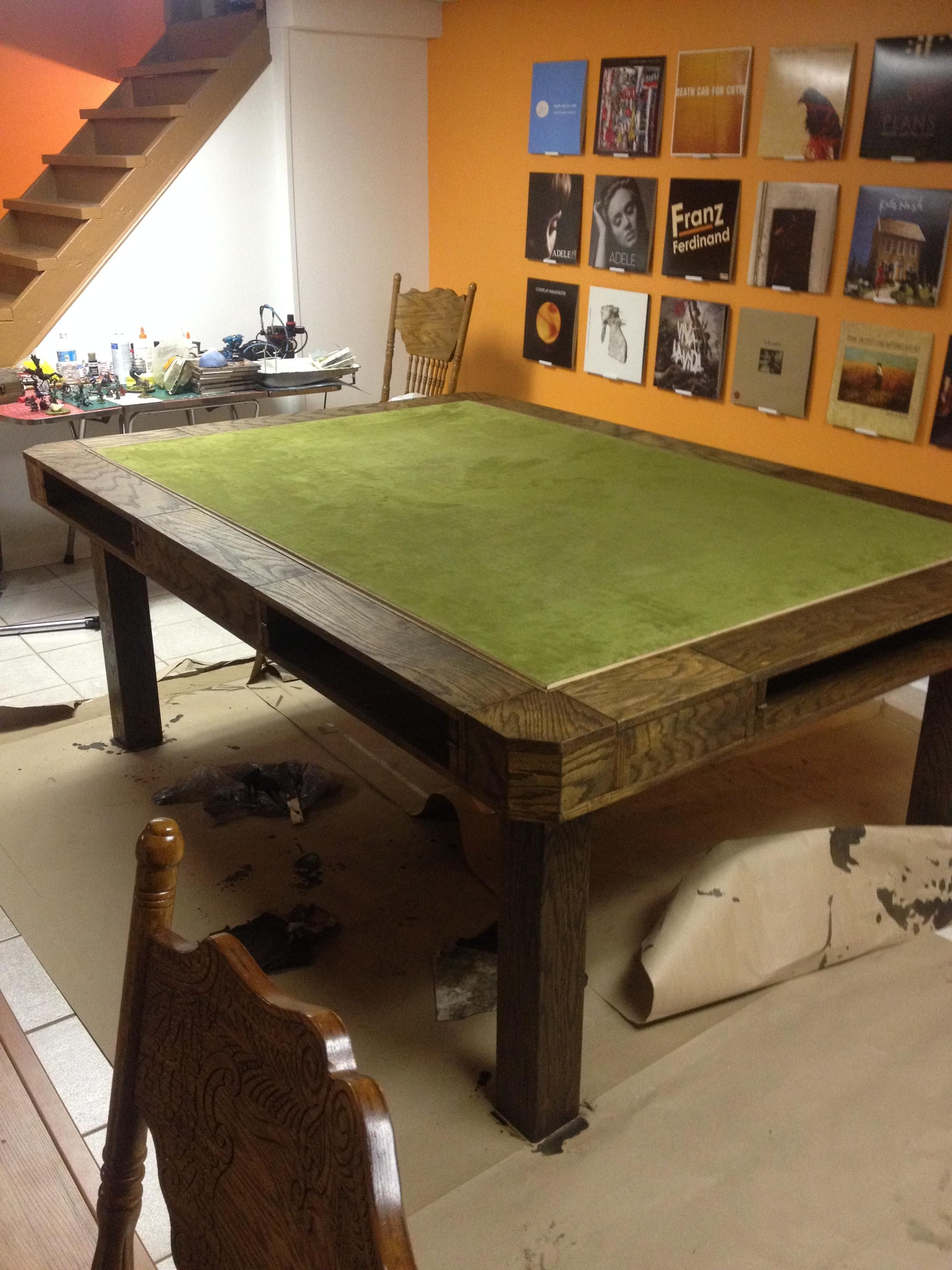 The Game Table Table Games Gaming Table Diy Table