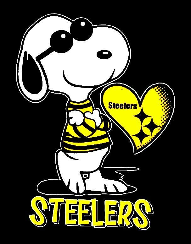 SNOOPY HAPPY BIRTHDAY PITTSBURGH  STEELERS