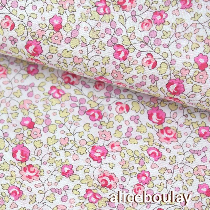 Tissu LIBERTY of London - Eloise rose x 50cm : Tissus Habillement ...