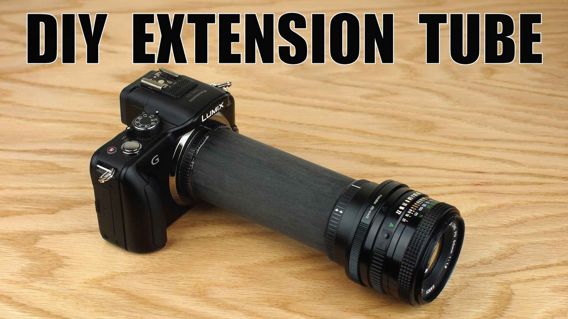 Learn How to Build Your Own Macro Extension Tube for Less Than $10