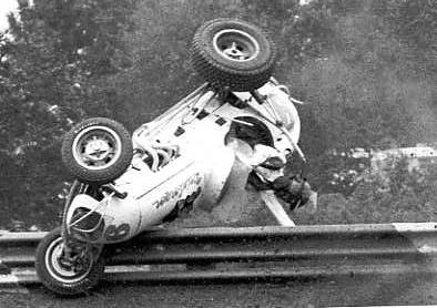 Vintage Sprint Car Crashes 15th 1964 Terre Haute In