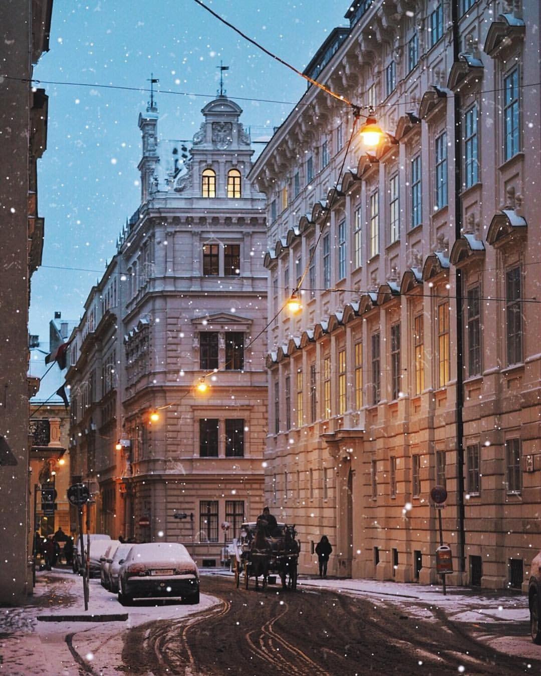 Snowy Vienna Vienna austria winter, Vienna winter