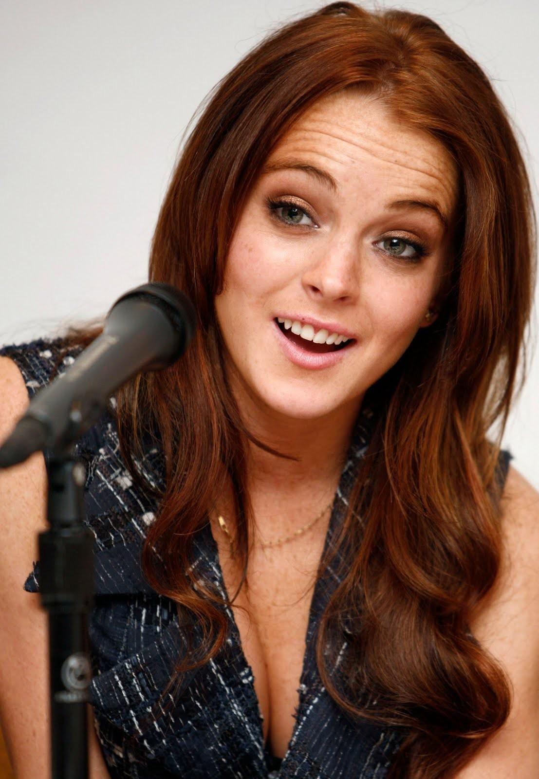 Lindsay Lohan Just My Luck Jpeg Red Hair 2006496385g 11071600