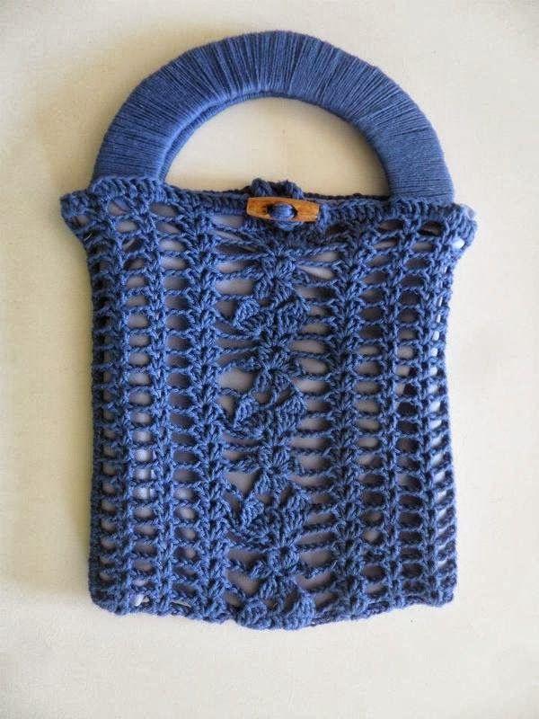 Bolso Red Asa de Carton Patron - Patrones Crochet ...
