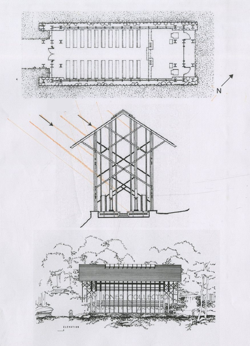 Thorncrown Chapel Plan And Elevation Thorncrown Chapel Church Design Architecture Church Architecture
